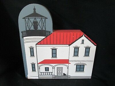 Vintage Cats' Meow ADMIRALTY HEAD LIGHTHOUSE 1991 Collectible