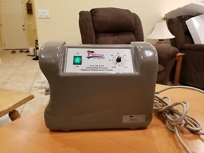 Patriot Low Air Loss & Alternating Pressure Mattress Pump/Motor GUARANTEED