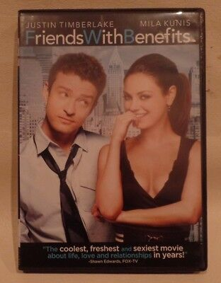 FRIENDS WITH BENEFITS, TIMBERLAKE, KUNIS, DVD, CASE, ARTWORK, o
