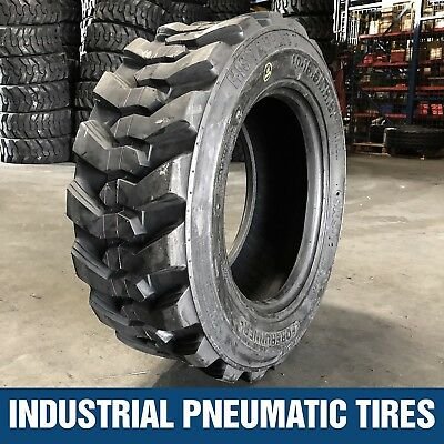 10-16.5 12pr Forerunner Skid Steer Loader Tires (1 Tire) 10x16.5 for Bobcat