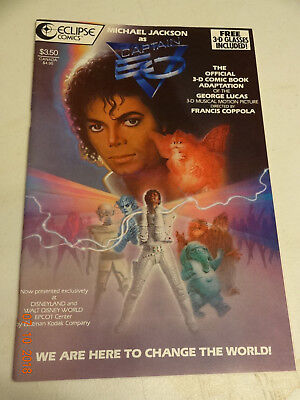 Michael Jackson As Captain Eo 3-D Vf With Glasses