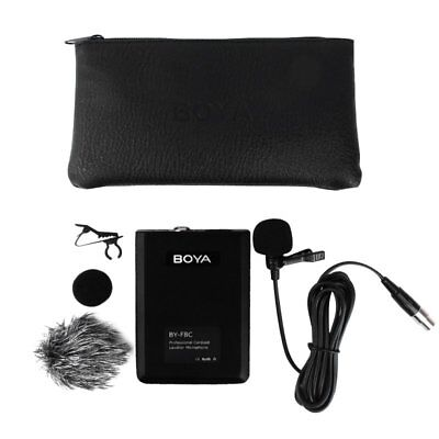 BOYA BY-F8C Professional Cardioid Lavalier Video Instrument Microphone Recording