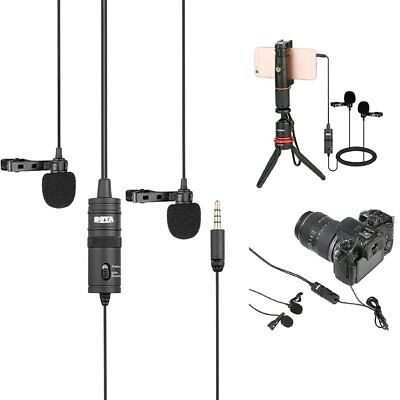 BOYA BY-M1DM Lavalier Omni-directional Microphone for iPhone DSLR Camcorder PC