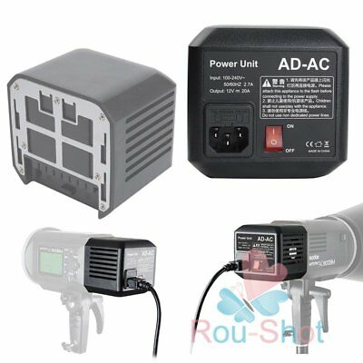 GODOX AD-AC Power Source Adapter For AD600 AD600M AD600B AD600BM Flash【AU】