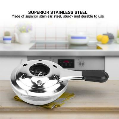 Portable Stainless Steel Alcohol Stove Burner Outdoor Camping Panic Cooking Tool
