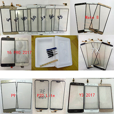 OEM Outer Front Glass Touch Screen For Huawei P/Y/Honor & Mate &Enjoy Series+3M