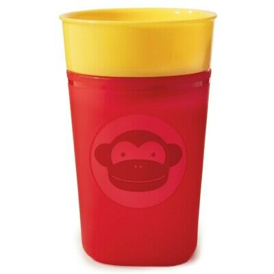 Skip Hop Zoo Turn & Learn Training Sippy Cup - Monkey