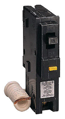 SQUARE D BY SCHNEIDER ELECTRIC Homeline 15-Amp Single-Pole Ground Fault Circuit