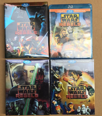 Star Wars Rebels Complete Animated TV Series Season 1 2 3 4 (Blu-ray) 1234 1-4
