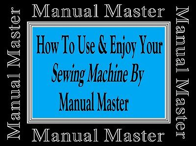 Models M 681 B Jones Brother sewing machine instruction Manual Booklet