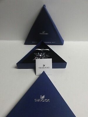 NEW 2017 SWAROVSKI Annual Edition Large Christmas Ornament Crystal 5257589 NIB