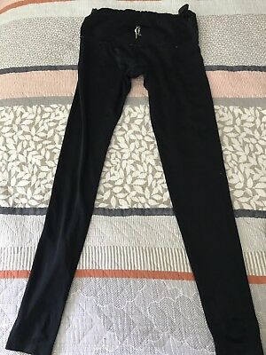 SCR Pregnancy Leggings- Black Size Medium