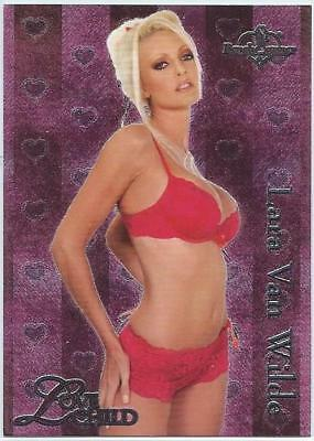 Lara Van Wilde Benchwarmer 2004 Love Child Foil Insert Card 8 of 10 NM
