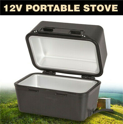 12 Volt 1.9m Length Large Portable Stove keeps food hot Holds up to 3 litres