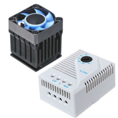 Mechanical Hygrostat Humidity Controller Fan Connect Heater for Cabinet MFR012