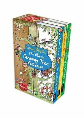 THE MAGIC FARAWAY TREE COLLECTION 3 BOOK SET by ENID BLYTON, PAPERBACK - NEW