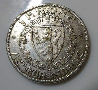 Norway - 1 Krone 1908 - silver coin