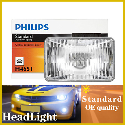 Philips 1PC Headlight Light Bulbs High Beam For 1976-1985 Buick Electra