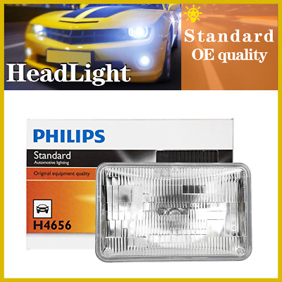 1PC Philips Headlight Light Bulbs Low Beam For 1980-1985 American Motors Eagle