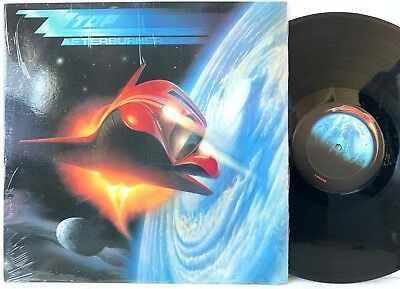 ZZ Top Afterburner 1985 Warner Bros Records in-shrink LP Vinyl Record Album