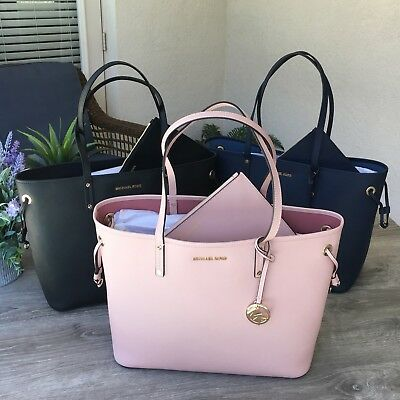 bd17a115e0fe NWT Michael Kors Jet Set Travel Large Drawstring Tote 2 IN 1 Bag with Pouch
