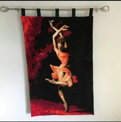 'The Majesty Of Ballet' Original Exquisite Wall hanging Needlepoint Tapestry