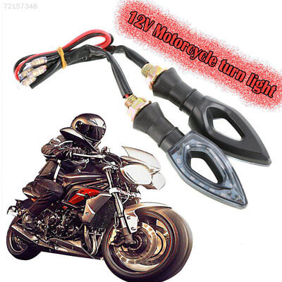 95C7 LED Signal Lamp Indicator Light Amber Light Replacement Motorbike Refit