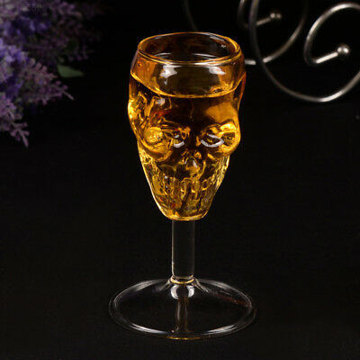 958E 55ml Skull glass glass Head Vodka Drinking Ware Home Bar gift artware