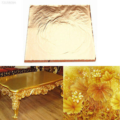 590E Gold Gilding Craft Paper Leaf Foil Paper Gilding Sheets Ceiling Design