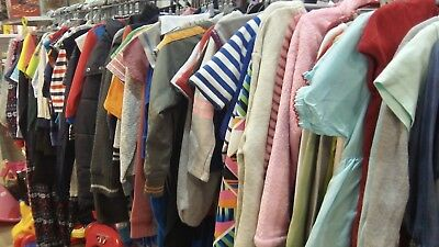 300 items of kids clothes in good condition job lot, bundle, wholesale 2-16