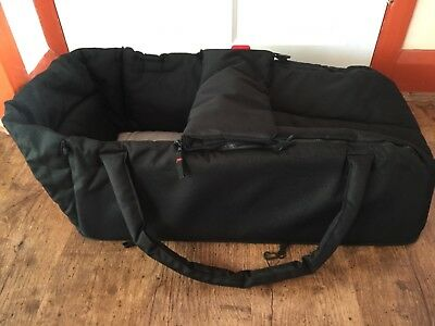 Phil And Teds Black Carrycot/Cocoon For Baby. Fits Most phil&teds Buggies