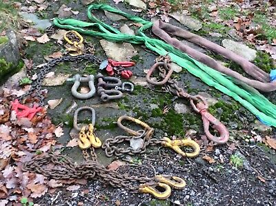 various lifting chains,slings and shackles