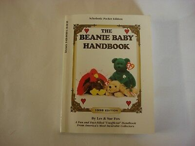 The Beanie Baby Handbook - Scholastic Pocket Edition - 1998 Edition