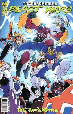 Transformers: Beast Wars: The Ascending Comic 2 Cover A IDW 2007