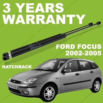 2x Gas Struts for Ford Focus mk1 2002-2005 Hatchback Rear / Boot tailgate