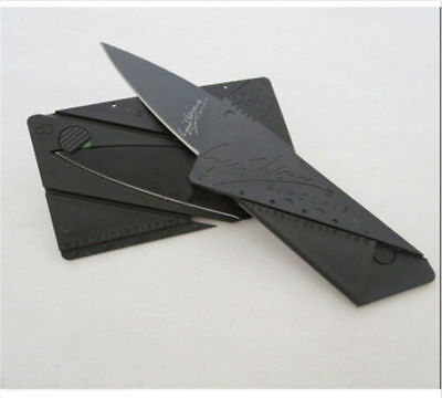CardSharp Foldable Wallet Knife Credit Card Knives Survival Tool Thin