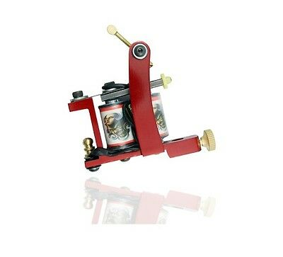 RED PROFESSIONAL TATTOO MACHINE - Coil Coiled - tattoo gun - For lining