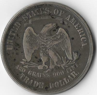1873 - P Trade Dollar - Only 396,635 Minted - Great Collector Coin