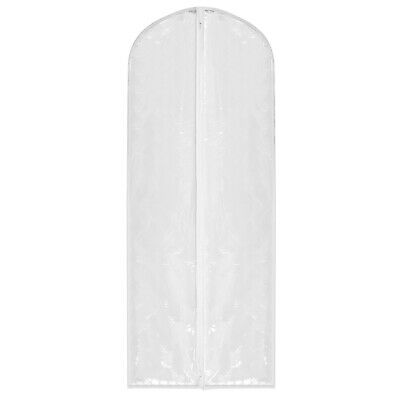 """Hoesh UK Pack 5 CLEAR 72"""" Bridesmaid Clothes Dress Bags Cover Garment Protector"""