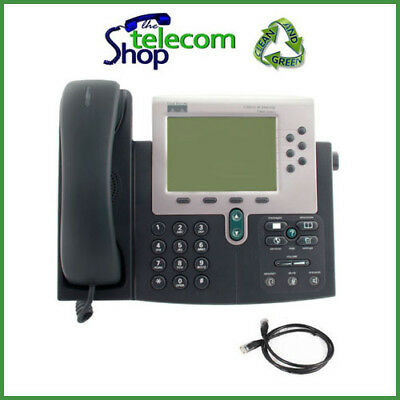 Cisco IP 7960G with SCCP Firmware VoIP Phone W/O PSU