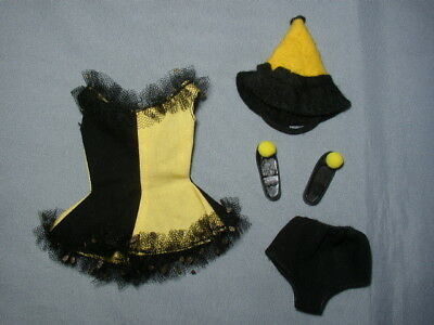 Vintage 1964 SKIPPER Barbie Doll MASQUERADE Outfit – NEAR COMPLETE