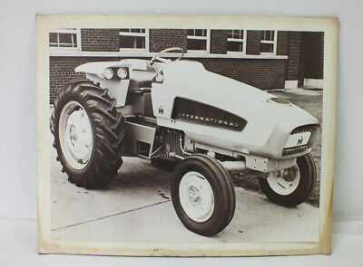 Vintage International Harvester HT-34 Photograph Large Prototype Cub Cadet Farm