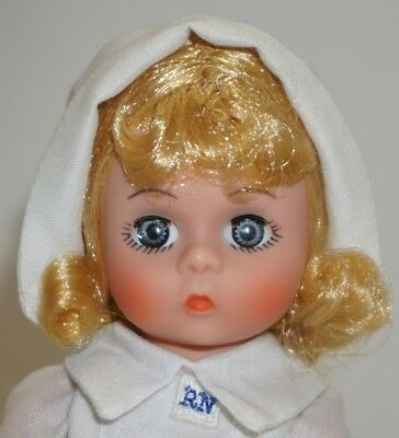 "NURSE DOLL ~ Madame Alexander Miniature Showcase ~ 8"" DOLL"