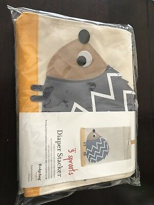3 Sprouts Hedgehog Diaper Stacker