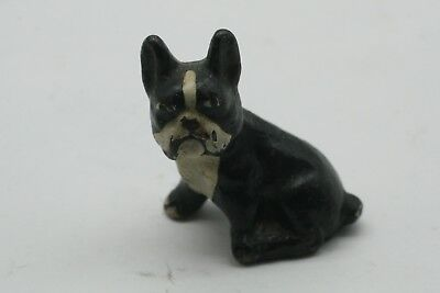 Vtg Cast Iron English Bulldog,french Bull Dog,boston Terrier,boxer