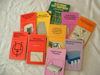 Lot of Electronic Technical Books - Lot 10