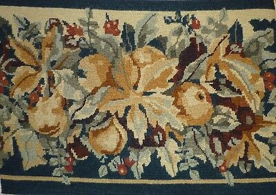 Ehrman Autumn Completed Tapestry Needlepoint Canvas / Panel