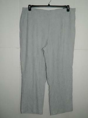 5f992ad52fb WPA1521 Alfred Dunner Women s Plus Pull On Classic Fit Pants NWT Size 22W  ...