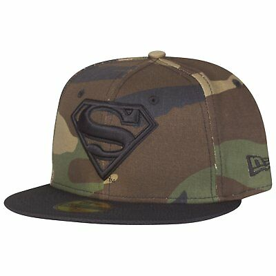 New Era 59Fifty Fitted Cap - SUPERMAN wood camo - 7
