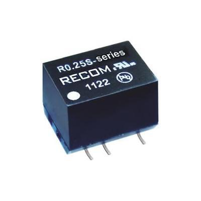 4 x Recom 0.25W Isolated DC-DC Converter, Vin 10.8-13.2V dc, Vout 12V dc